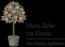 Logo und Apfelbaum 4c
