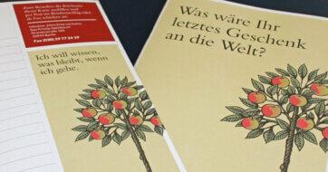"""Pressemappe der Initiative """"Mein Erbe tut Gutes. Das Prinzip Apfelbaum"""""""